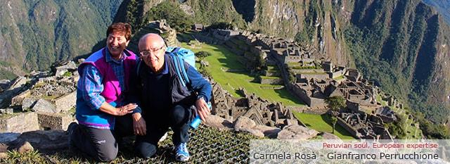 Tour Operator Peru: Gianfranco e Carmela