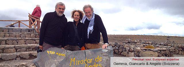 Tour Operator Peru: Gemma, Giancarlo & Angelo