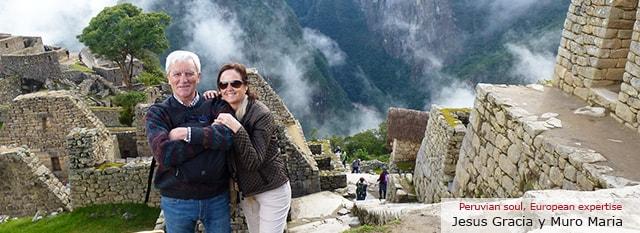 operador turístico Peru: Jesús Gracia Romero y Muro Maria
