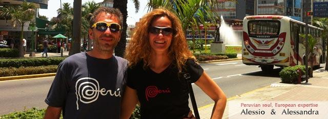 Tour Operator Peru: Alessio e Alessandra