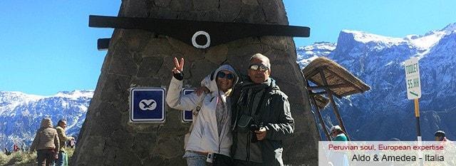 Tour Operator Peru: Amedea e Aldo