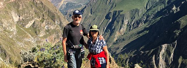 Tour Operator Peru: Andrea Paleologo e Gisella Crino