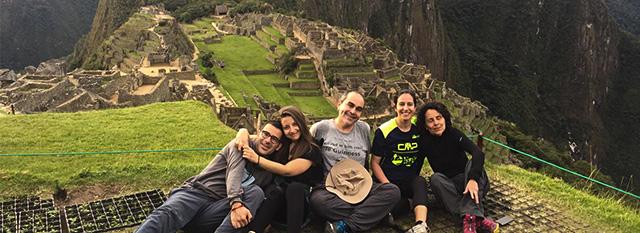 Tour Operator Peru: Anna Rita, Anna, Antonio, Eliana e Feliziano