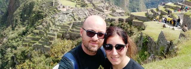 Tour Operator Peru: Anna e Domenico