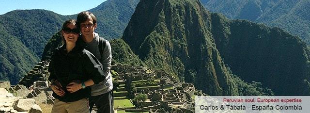 operador turístico Peru: Carlos & Tábata