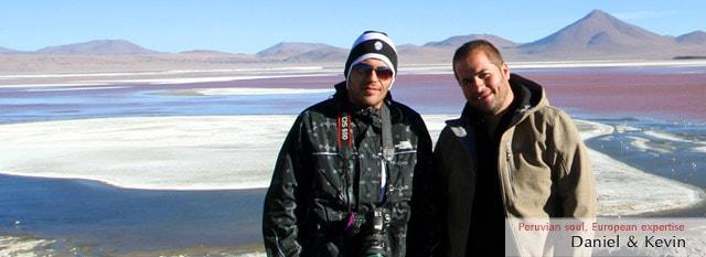 Tour Operator Peru: Daniel & Kevin