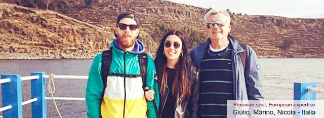 Tour Operator Peru: Giulio, Nicola e Marino