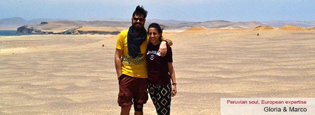 Tour Operator Peru: Gloria e Marco