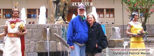 Tour Operator Peru: Joyce and Patrick Meyer