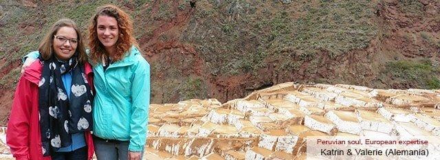Tour Operator Peru: Katrin and Valerie