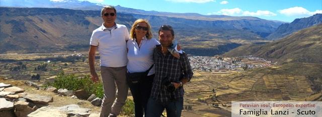 Tour Operator Peru: Maria Cristina, Angelo Lanzi, Andrea Lanzi