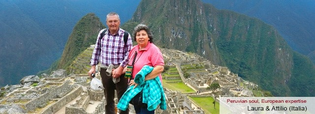 Tour Operator Peru: Laura e Attilio