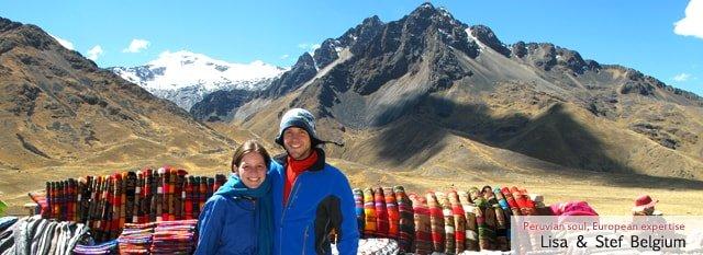 Tour Operator Peru: Lisa et Stef