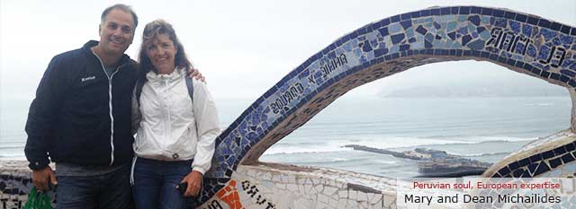Tour Operator Peru: Mary and Dean Michailides