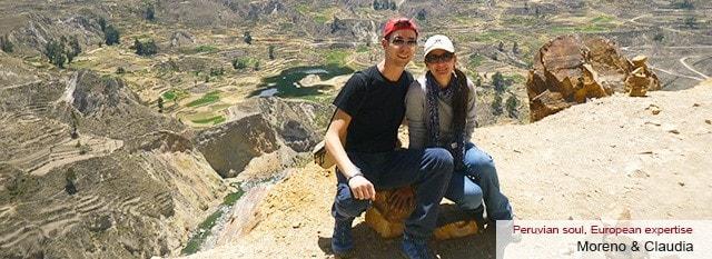 Tour Operator Peru: Moreno e Claudia