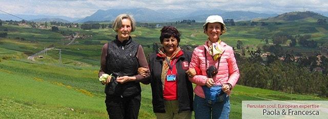 Tour Operator Peru: Paola e Francesca