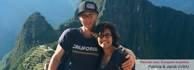 Tour Operator Peru: Patricia & Jacob