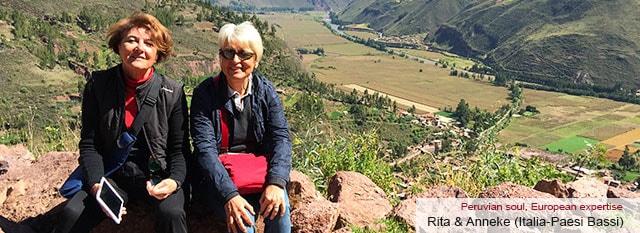 Tour Operator Peru: Rita & Anneke
