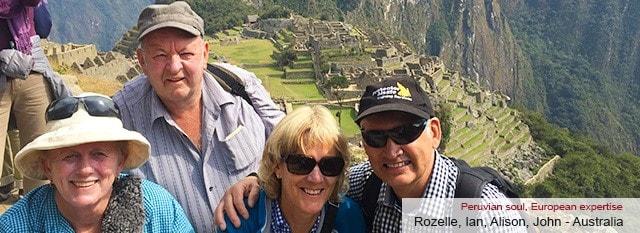 Tour Operator Peru: Rozelle Ian Alison John