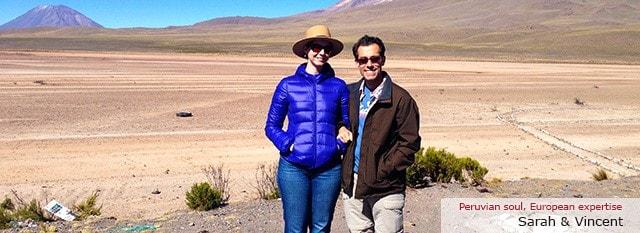 Tour Operator Peru: Sarah & Vincent