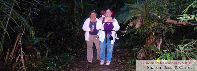 Tour Operator Peru: Sharon, Jessi & Richard Dennis