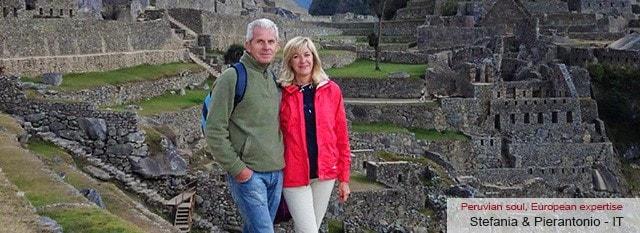 Tour Operator Peru: Stefania e Pienrantonio