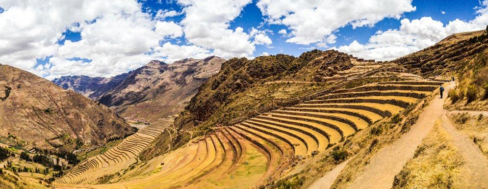 Pérou Classique Tour, Voyage au Machu Picchu - La Vallée Sacrée des Incas, Pisaq, Ollantaytambo et nuit à Aguas Calientes