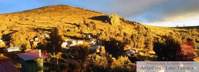 Lake Titicaca: Amantani