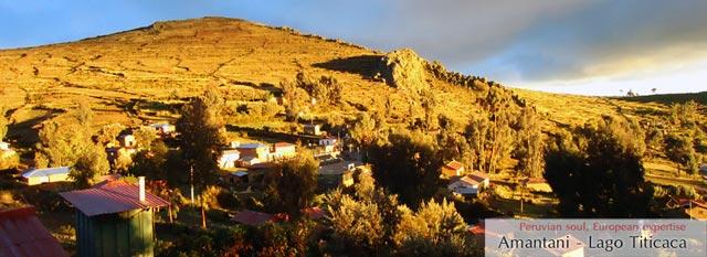 Lago Titicaca: Amantani