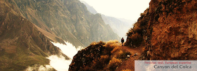 travel to machu picchu: colca