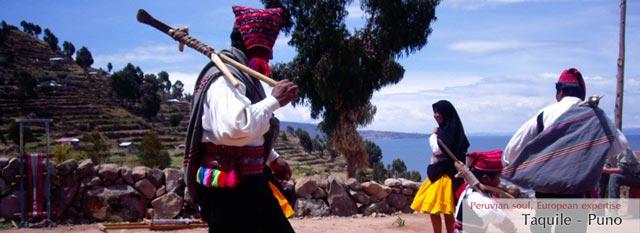Lago Titicaca: Taquile