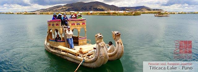Lago Titicaca, Islas de Uros y Amantani