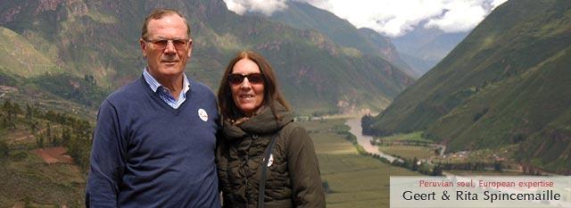 macchu picchu tours : Geert & Rita Spincemaille