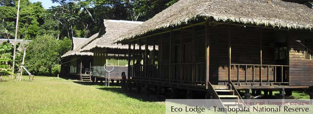 Tambopata Eco Lodge: eco lodge Tambopata