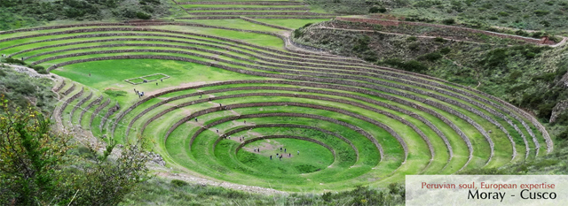 Lima-Cusco Tour: Maras, Moray, Chinchero. Return to Cusco