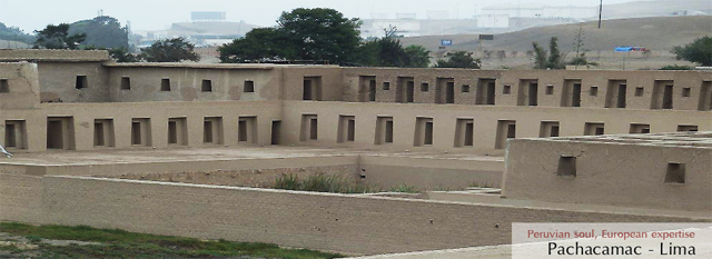 Lima-Cusco Tour: Visit to the Ciudadela de Pachacamac and the Museo de Oro