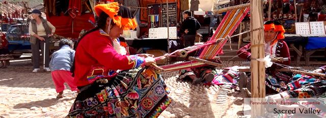 Peru Bolivia Andean Tour: Sacred Valley: Awanakancha, Pisac, Ollantaytambo
