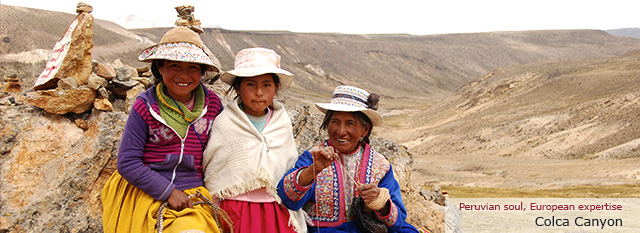 Peruvian Andes and Colca Canyon excursion