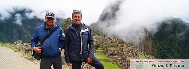 viaggi in perù : Orazio e Rosario