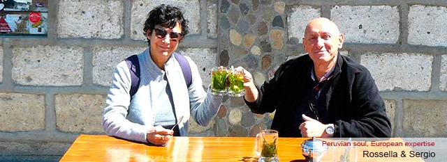 viaggi in perù : Rossella e Sergio