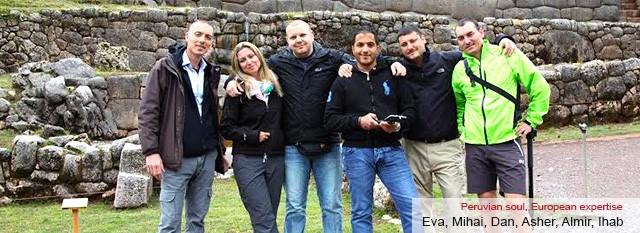 Eva, Mihai, Dan, Asher, Almir, Ihab