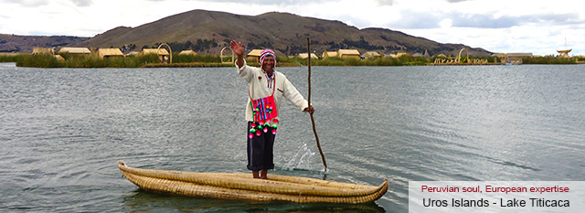 Lima - La Paz - Cusco tour: Cusco: The islands of Lake Titicaca