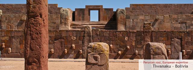 Bolivia Tour Classico: Antiche rovine della cultura Tiwanaku