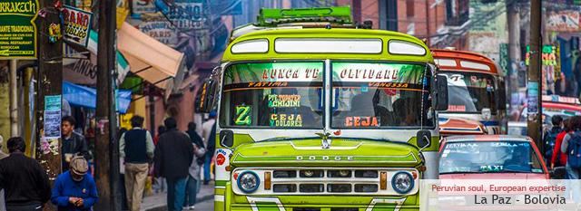 Cile Bolivia Peru Tour: La Paz