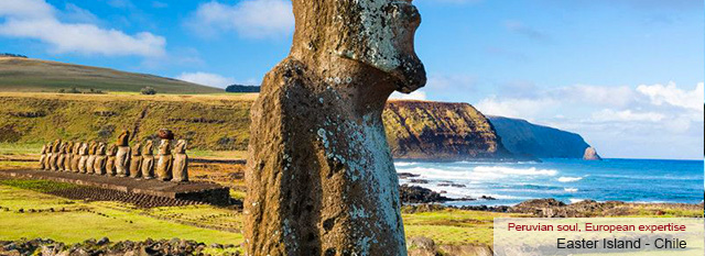 Organized tours to Peru: Easter Island