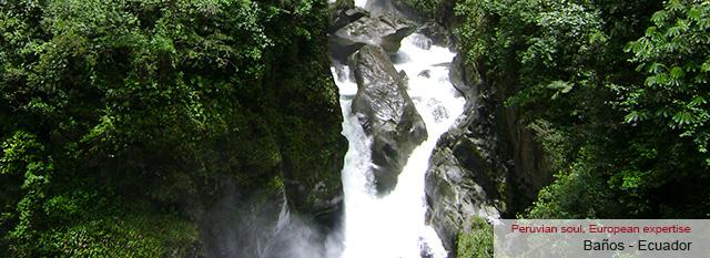 Ecuador Magic: Baños: waterfall circuit