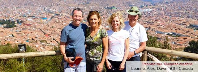 Leanne, Alex, Dawn and Bill